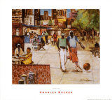 Harlem Prints by Charles Rucker