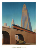 Overpass Posters by Robert LaDuke