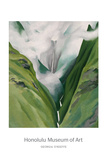 Waterfall No. 3, 'Iao Valley Art by Georgia O'Keeffe