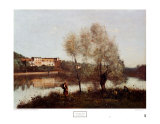 Ville d&#39;Avray Posters by Jean-Baptiste-Camille Corot