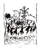 Lunga vita alla pace Poster di Pablo Picasso
