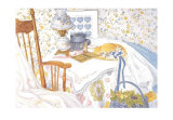 Rebekah's Room Print by Sharyn Ponsford