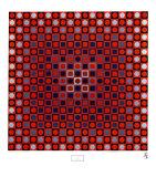 Alom Kunstdrucke von Victor Vasarely