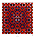 Alom Posters by Victor Vasarely
