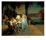 Quiet Evening Prints by Delphin Enjolras