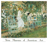 Lilies Print by Frederick Carl Frieseke