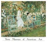 Lilies Print by Frederick Carl Frieseke
