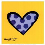 Bee Bop Love Prints by Romero Britto