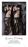 Doppia Venere nel cielo di notte Stampe di Jim Dine
