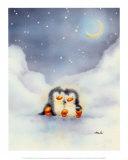 Little Penguins Kunst af Makiko