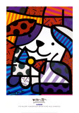 Ginger Poster by Romero Britto
