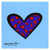 Blue About You Posters by Romero Britto