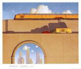 Traffic Posters by Robert LaDuke