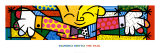 The Hug Poster by Romero Britto