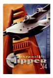 Clipper 314 Plakat af Michael L. Kungl