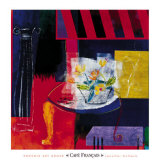 Cafe Francais Prints by Jennifer Hollack