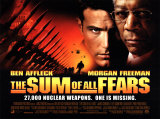 The Sum of All Fears Posters