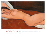 Reclining Nude Prints by Amedeo Modigliani