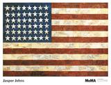 Jasper Johns - Vlajka, 1954 Plakát