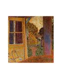 Zum Garten geöffnete Tür Kunst von Pierre Bonnard