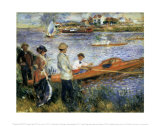 Oarsmen at Chatou Art by Pierre-Auguste Renoir