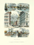 Chicago, 1873 Posters par Alfred Rudolf Waud