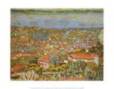 Panoramic View of le Cannet Prints by Pierre Bonnard