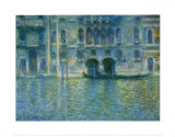 Palazzo Da Mula, Venice Posters by Claude Monet