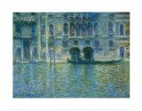 Palazzo Da Mula, Venice Art by Claude Monet