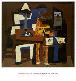 Trois musiciens Art par Pablo Picasso