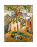 Ste. Agnes, South of France, 1915 Prints by Roger Fry