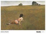 Christina's World Kunst af Andrew Wyeth