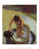 Crouching Nude in Tub Psteres por Pierre Bonnard