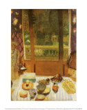 La salle du petit d&#233;jeuner (1930) Posters par Pierre Bonnard