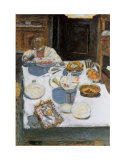 The Table, 1925 Affischer av Pierre Bonnard