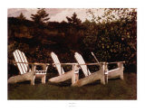 Island Library Prints by Jamie Wyeth