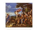 Bacchus and Ariadne Prints by Titian (Tiziano Vecelli)