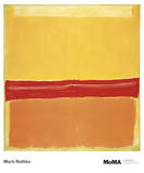 Num&#233;ro 5 Posters par Mark Rothko