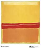 Numéro 5 Posters par Mark Rothko