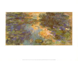 The Water Lily Pond, 1918 Print by Claude Monet