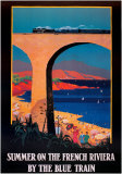 Summer on the French Riviera Poster