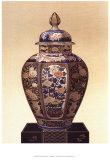 Oriental Blue Vase II Prints