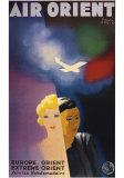 Air Orient Kunstdrucke von Paul Colin