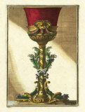 Red Goblet II Prints by Giovanni Giardini