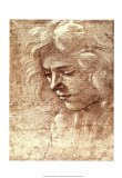 Sepia Maiden Prints by Filippino Lippi