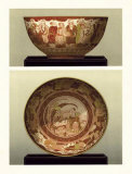 Oriental Bowl and Plate II Posters by George Ashdown Audsley