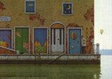 Venice, Ponte Isolato Plakaty autor Quint Buchholz