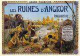 Les Ruines D'Angkor Art by George Grolier