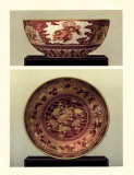 Oriental Bowl and Plate I Prints by George Ashdown Audsley