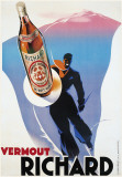 Vermout Richard Poster by Edmond Maurus